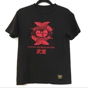 [WUWEAR] WU TANG CLAN graphic print t-shirt tee S